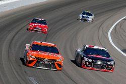 Daniel Suarez, Joe Gibbs Racing Toyota and Austin Dillon, Richard Childress Racing Chevrolet