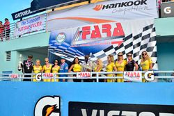 FARA Race of Champions MP3A podium