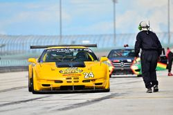 #24 MP1B Chevrolet Corvette C5: Juan Vento and Frank Eiroa Jr of JV Racing