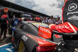 #2 Audi Sport Team WRT, Audi R8 LMS heading to grid