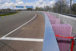 Porsche Curves SAFER barrier
