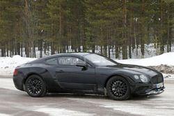 Spyshots de la Bentley Continental GT 2018