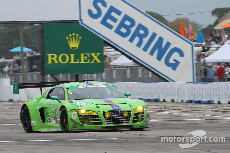 #45 Flying Lizard Motorsports Audi R8 LMS: Nic Jonsson, Pierre Kaffer, Tracy Krohn