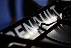 Renault Sport F1 Team RS16 rear wing detail