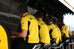 Muret des stands Renault Sport F1 Team