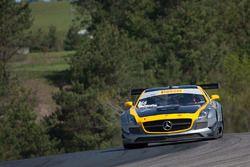 #66 DragonSpeed Mercedes-Benz AMG SLS GT3: Frankie Montecalvo