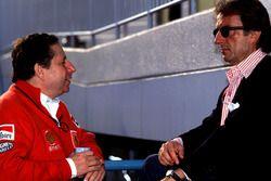 Luca Di Montezemolo ve Jean Todt, Ferrari