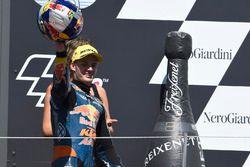 Podium: Brad Binder, Red Bull KTM Ajo, KTM