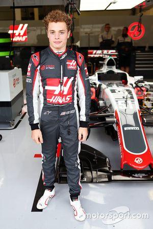 Santino Ferrucci, Haas F1 Team Gelişim pilotu