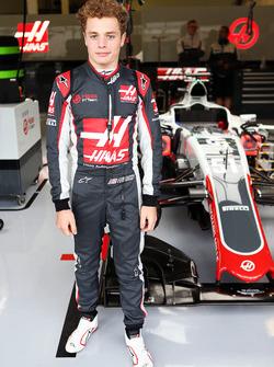 Santino Ferrucci, Haas F1 Team, Entwicklungsfahrer