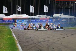 Start beim Rennen in der DSKC