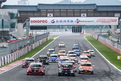 China Cup start action