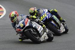Hector Barbera, Avintia Racing et Valentino Rossi, Yamaha Factory Racing