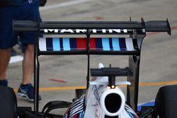Valtteri Bottas, Williams FW38 avec un aileron arrière spécial
