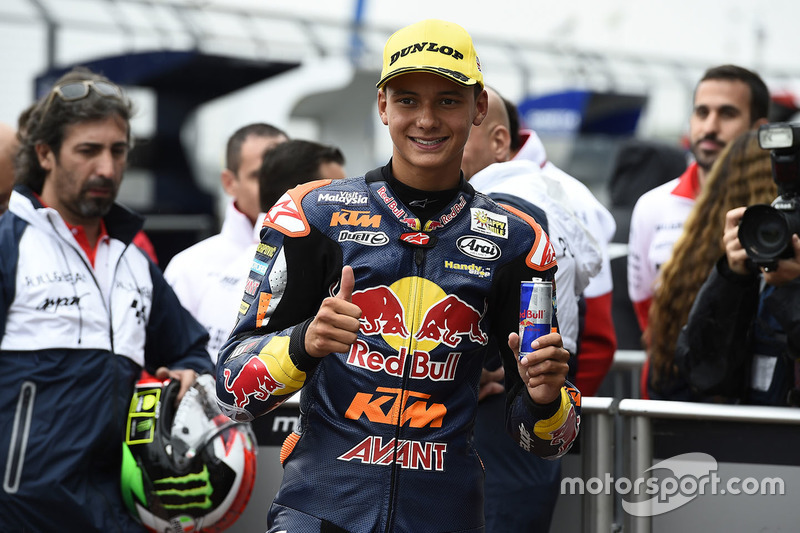 Third position Bo Bendsneyder, Red Bull KTM Ajo