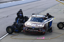 Darrell Wallace Jr., Roush Fenway Racing Ford, pit stop