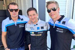 Fredrik Ekblom, Robert Dahlgren e Thed Bjork, Volvo S60 Polestar TC1 test car