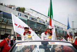 Mike Rockenfeller, Audi Sport Team Phoenix, Audi RS 5 DTM and Timo Scheider, Audi Sport Team Phoenix