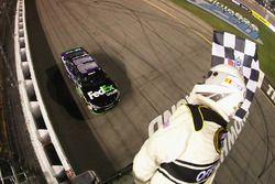 Sieg für Denny Hamlin, Joe Gibbs Racing, Toyota