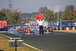 Start zum Rennen der DSKC
