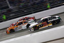 Ryan Newman, Richard Childress Racing Chevrolet, Carl Edwards, Joe Gibbs Racing Toyota