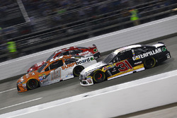 Ryan Newman, Richard Childress Racing Chevrolet, Carl Edwards, Joe Gibbs Racing Toyota