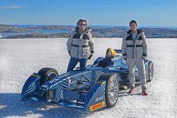 Lucas di Grassi ve Alejandro Agag, Formula E CEO