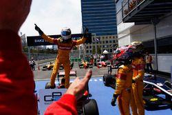 Le vainqueur Antonio Giovinazzi, PREMA Racing