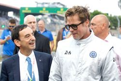 Brad Pitt and Pierre Fillon, ACO President