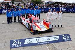 Цзюн Цзинь Пу, Ник де Брюин, Тристан Гомменди, #33 Eurasia Motorsport Oreca 05 Nissan