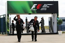 Fernando Alonso, McLaren con Fabrizio Borra, Fisio