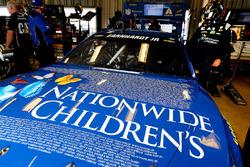 El auto de Dale Earnhardt Jr., Hendrick Motorsports Chevrolet