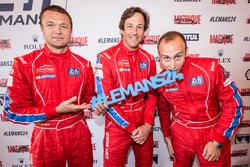 #62 Scuderia Corsa Ferrari 458 Italia: Townsend Bell, Bill Sweedler, Jeff Segal