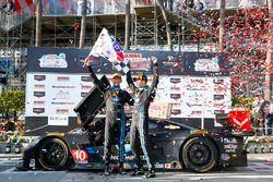 #10 Wayne Taylor Racing Corvette DP : Ricky Taylor, Jordan Taylor, vainqueurs