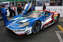 #66 Ford Chip Ganassi Racing Team UK Ford GT : Olivier Pla, Stefan Mücke, Billy Johnson