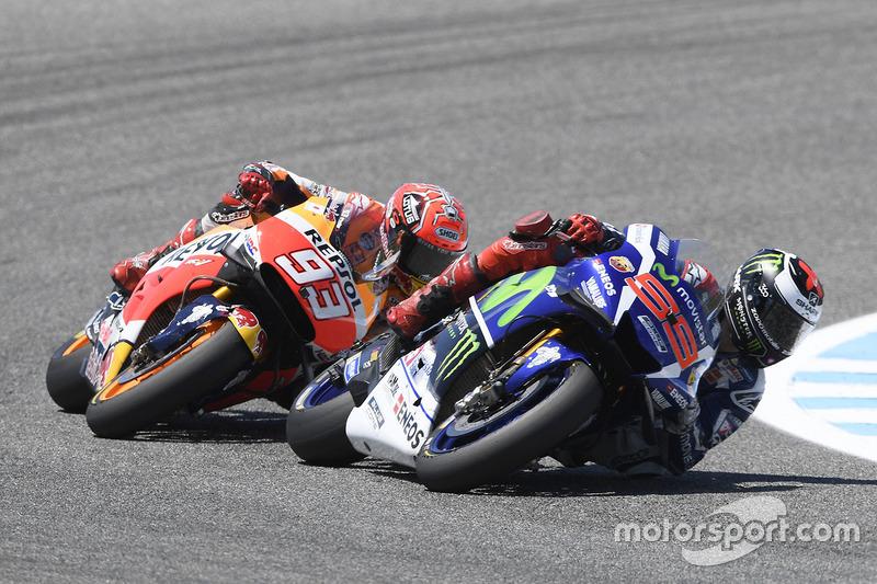 Márquez s'incline