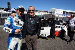 Thomas Biaggi and Marcello Lotti, CEO TCR International