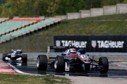 George Russell, HitechGP, Dallara F312 – Mercedes-Benz; Pedro Piquet, Van Amersfoort Racing, Dallara