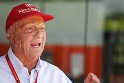 Niki Lauda, voorzitter Mercedes