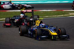 Nicholas Latifi, DAMS devance Johnny Cecotto Jr., Rapax