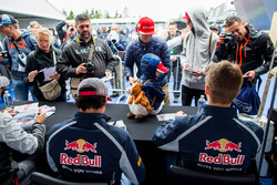 Carlos Sainz Jr., Scuderia Toro Rosso et Daniil Kvyat, Scuderia Toro Rosso