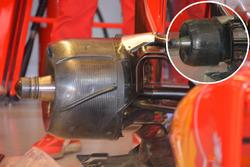 Ferrari SF16-H : tambour de frein arrière