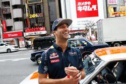 Daniel Ricciardo és Max Verstappen, Red Bull Racing, Tokió