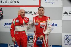 Podio GA: al terzo posto #24 Scuderia Cameron Glicknhaus SCG 003C: Lorenzo Bontempelli, Beniamino Caccia
