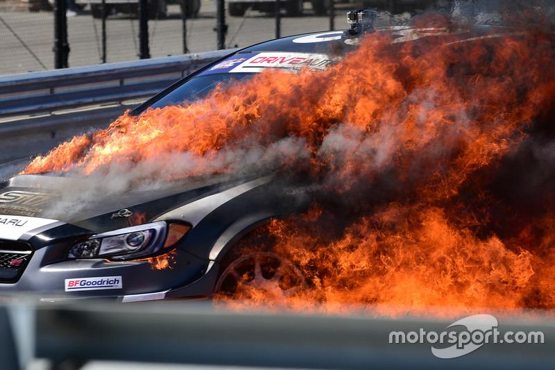 Toshihiro Arai, Subaru en llamas