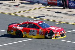 L'auto incidentata di Alex Bowman, Hendrick Motorsports Chevrolet