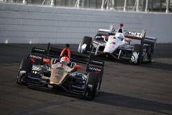 James Hinchcliffe, Schmidt Peterson Motorsports Honda, Josef Newgarden, Team Penske Chevrolet