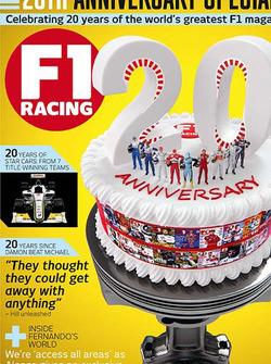 F1 Racing 20º aniversario portada