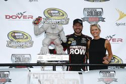 Race winner Martin Truex Jr., Furniture Row Racing Toyota
