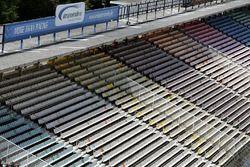 An empty grandstand